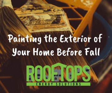 Painting the Exterior of Your Home Before Fall | Roofing Boise