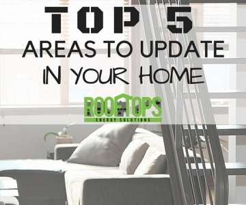 The Top Five Areas to Update in Your Home | Roofing Boise